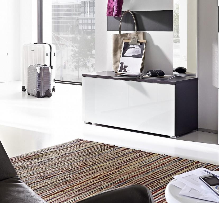 schuhschrank schuhbank ca 12 paar garderobe schrank. Black Bedroom Furniture Sets. Home Design Ideas