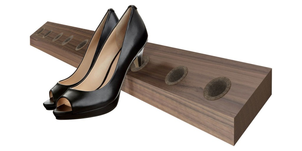 jan kurtz heelhole schuhleiste schuhregal high heel regal leiste massiv holz mdf wei kleinm bel. Black Bedroom Furniture Sets. Home Design Ideas