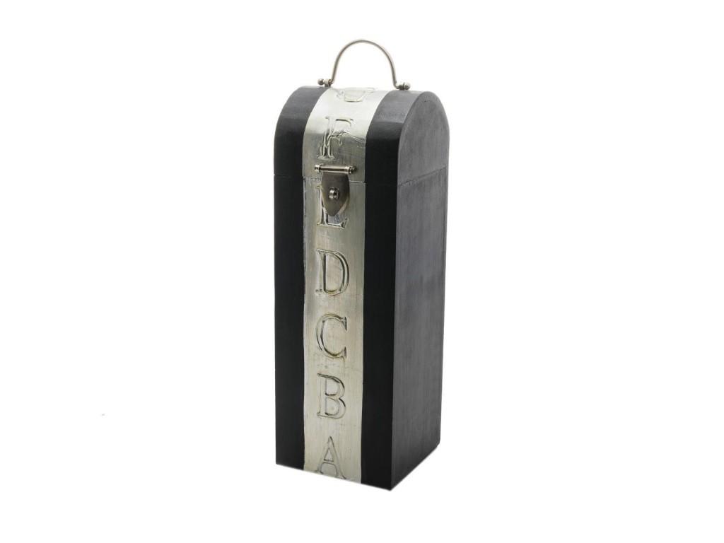dekorative weinbox weinkiste flaschenbox aus holz. Black Bedroom Furniture Sets. Home Design Ideas