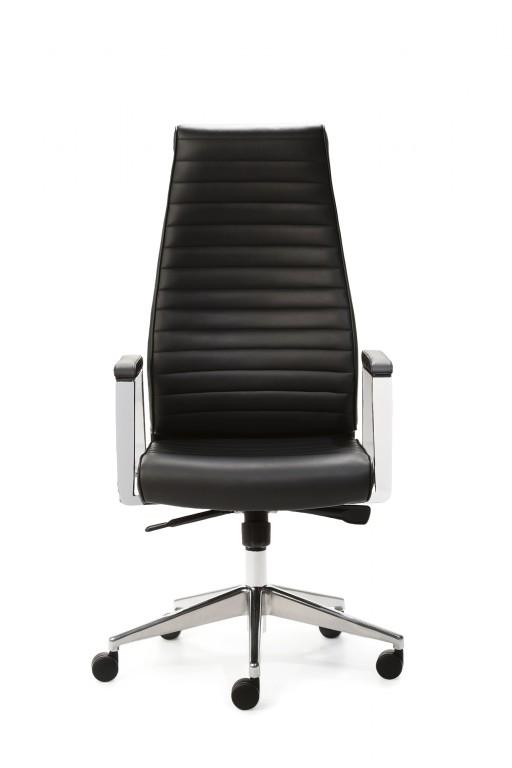 Design bürostuhl  Mayer Design Echt Leder DELUXE Drehsessel Bürostuhl schwarz 2491 ...
