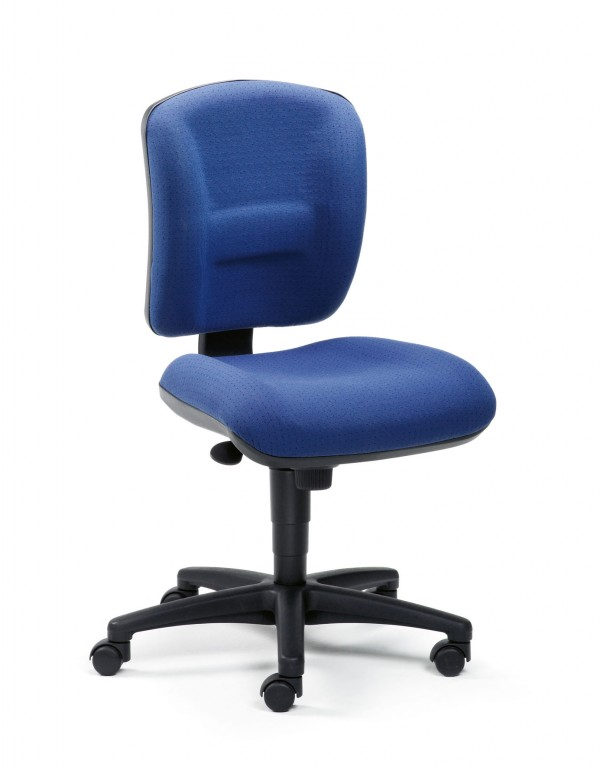 Mayer Open Entry 2249 Drehstuhl mit Multimatic Comfort in schwarz / blau