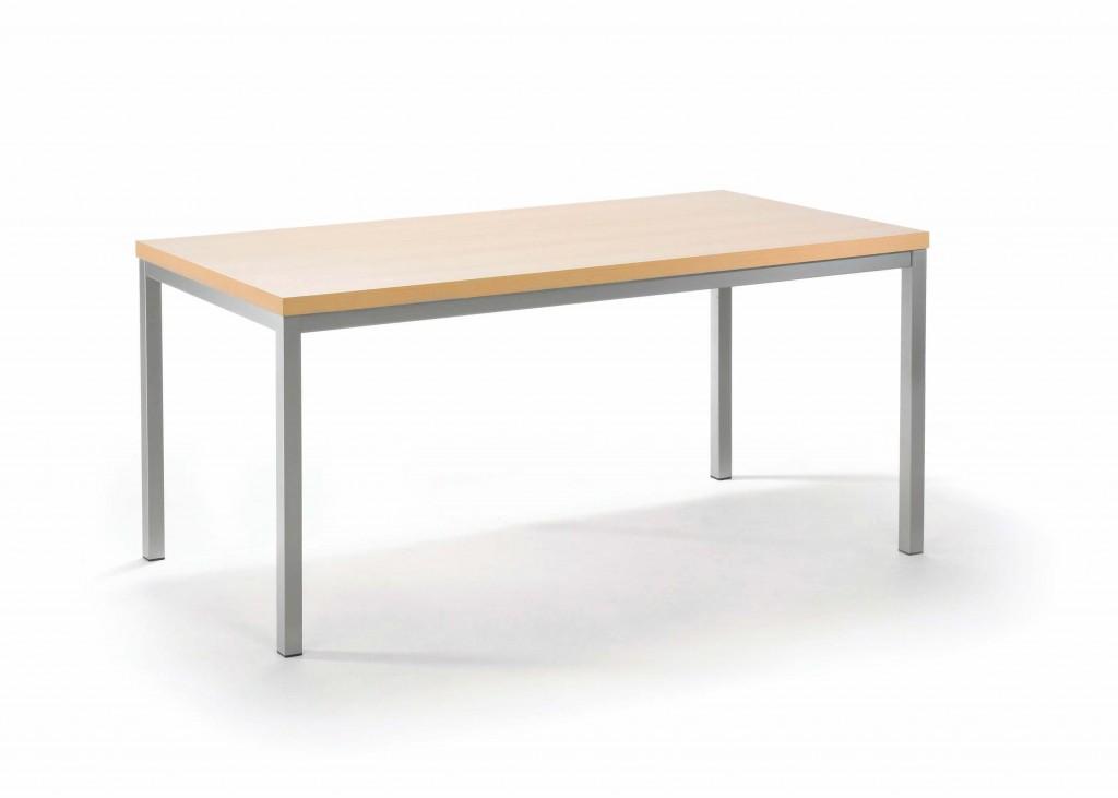 Mayer 3059 Tisch / Speisezimmertisch / Konferenztisch perlsilber / buche