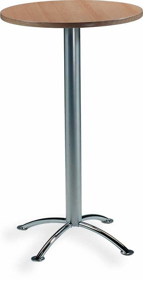 Mayer 3095 28 06 stehtisch bistrotisch in chrom silber for Bistrotisch buche