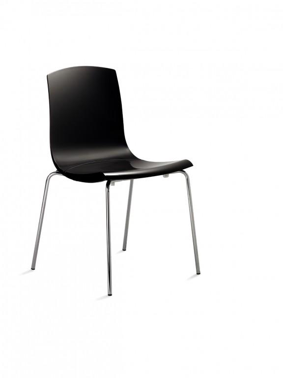 Mayer 2123 design stuhl konferenzstuhl esszimmerstuhl for Design stuhl schwarz