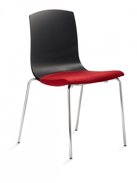 Mayer 2124 design stuhl konferenzstuhl esszimmerstuhl for Design stuhl rot