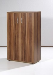 Chef Aktenschrank in Walnuss 70 x 110 x 34