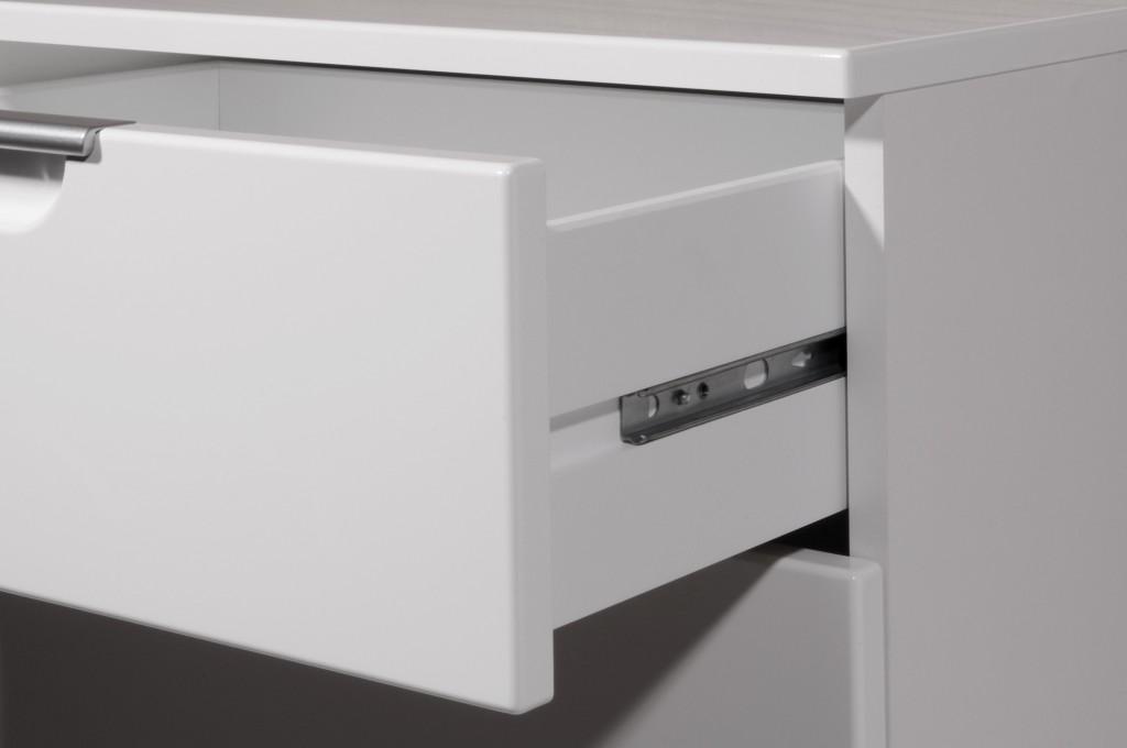 Vento kommode anrichte mit 2 t ren und 2 schubladen in for Garderobe mit kommode