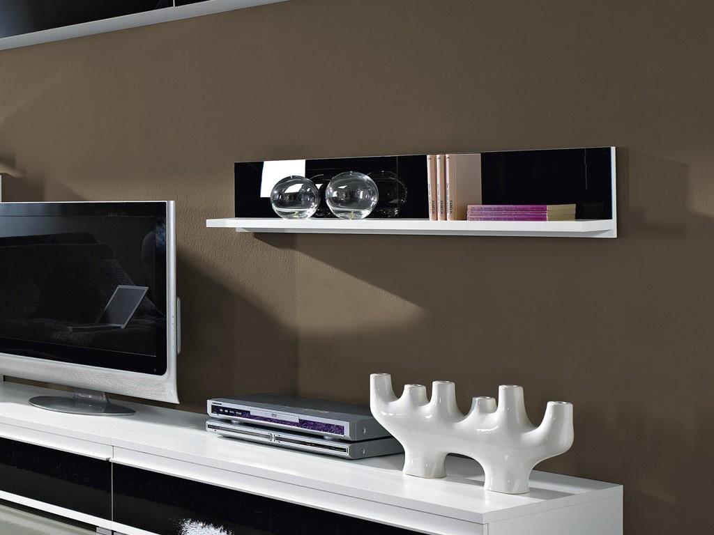 wohnzimmer wohnwand 8 tlg vitrine tv board h ngeschrank. Black Bedroom Furniture Sets. Home Design Ideas