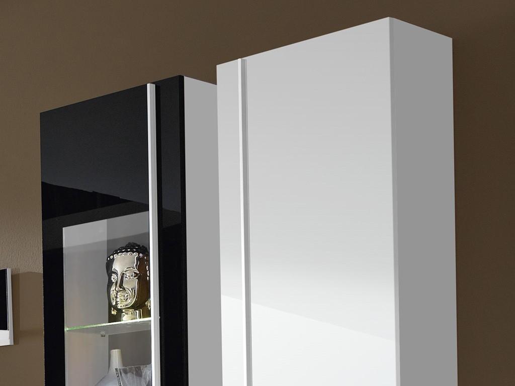 Steel Hängeschrank In Weiß 35 X 100 X 27 Wohnzimmer Hängeelemente ... Hangeschrank Weis Wohnzimmer