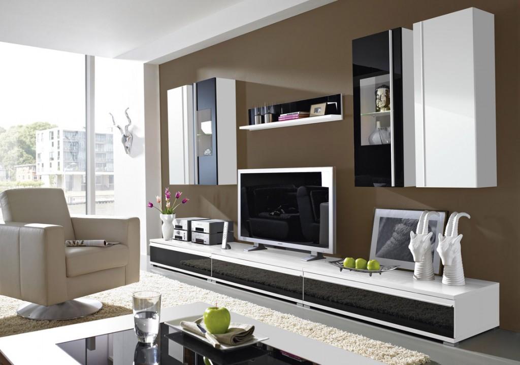 steel vitrine / hängevitrine mit glas-front schwarz / weiß 35 x