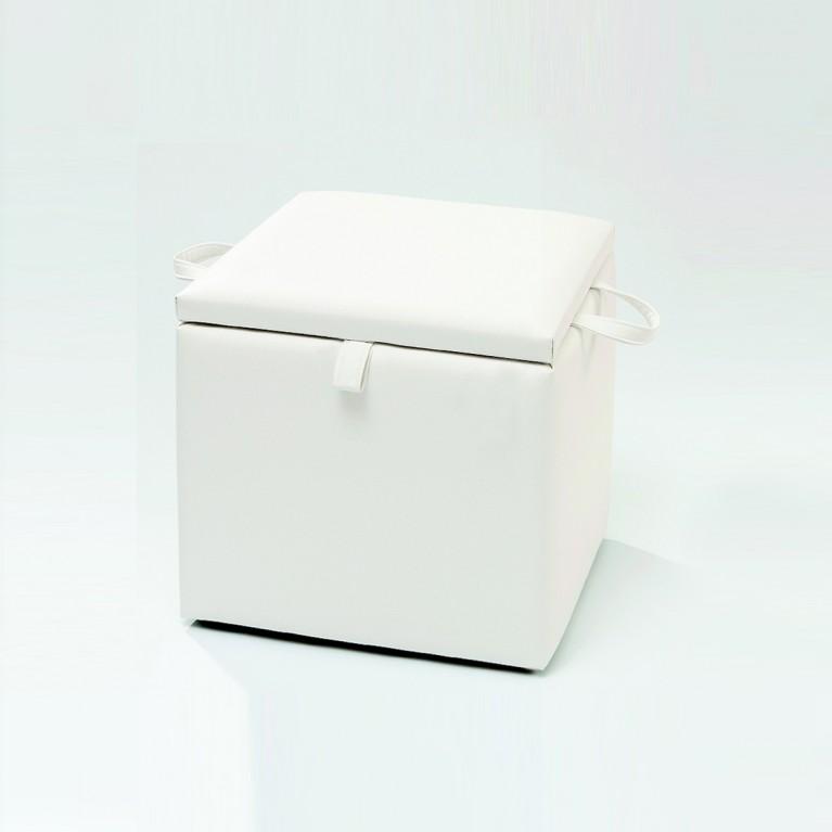 necke valentina w schetruhe w schebox truhe mit stauraum in wei 42 x 42 x 42 kleinm bel. Black Bedroom Furniture Sets. Home Design Ideas