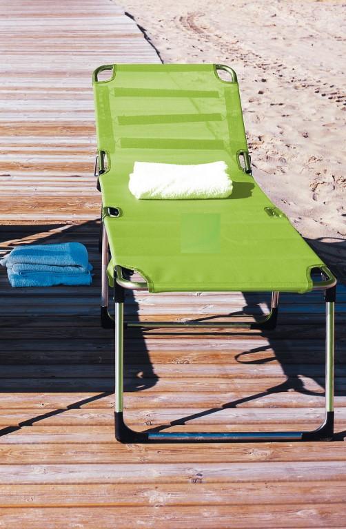 fiam amigo fourty liege sonnenliege alu lime extra hoch 60 x 42 x 190 garten outdoor. Black Bedroom Furniture Sets. Home Design Ideas