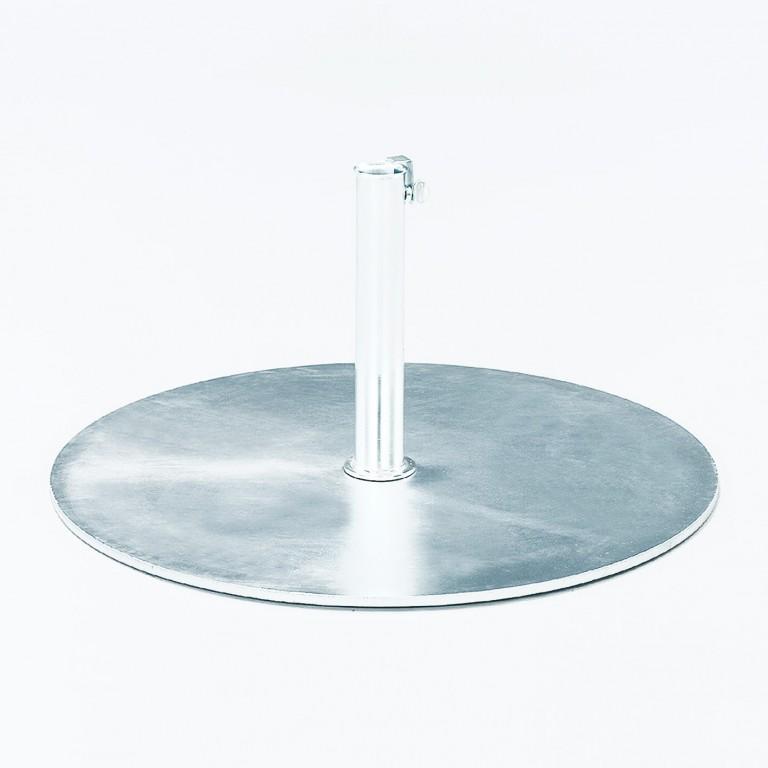 jan kurtz stand standfu f r sonnenschirm eisen verzinkt passend f r verschiedene gr en garten. Black Bedroom Furniture Sets. Home Design Ideas
