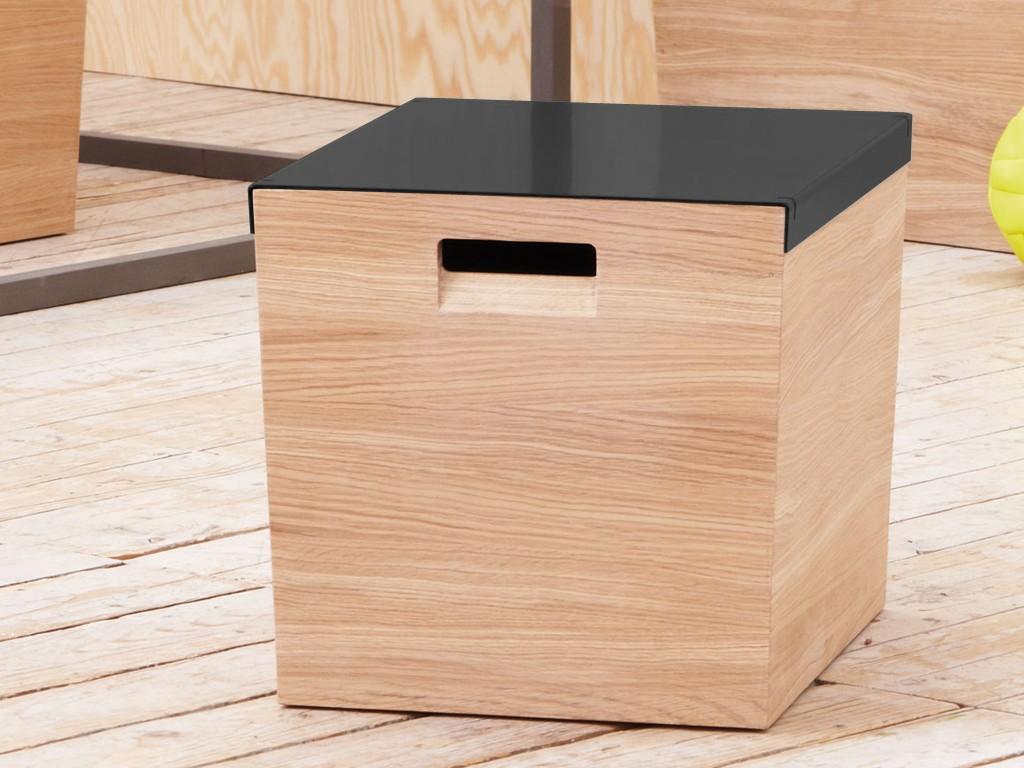 jan kurtz amelie truhe mit schiebedeckel eiche massiv. Black Bedroom Furniture Sets. Home Design Ideas
