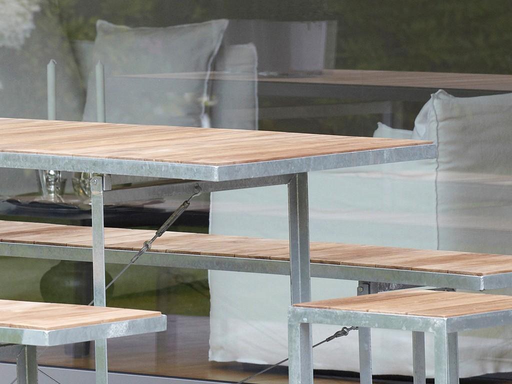 Tisch klappbar elegant das bild wird geladen tisch with for Esstisch jever