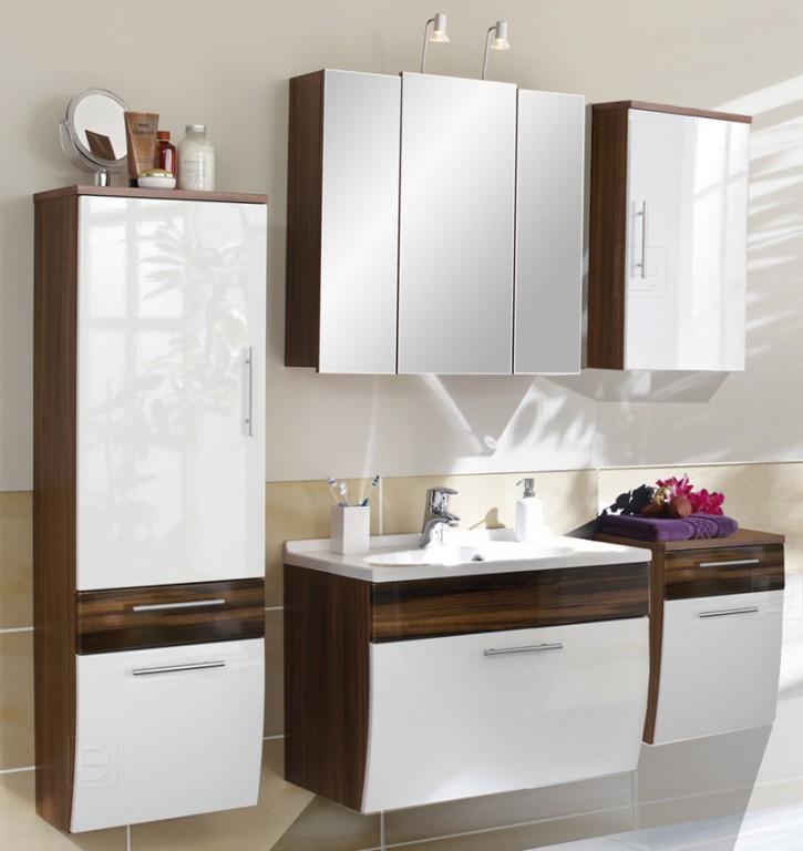design badezimmer badm bel badezimmerm bel waschtisch hochglanzfront 5tlg neu bad m bel. Black Bedroom Furniture Sets. Home Design Ideas