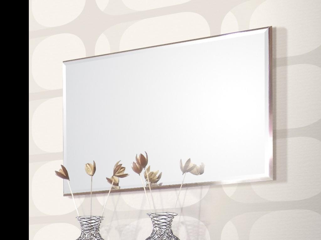 Garderobe Mit Spiegel prima spiegel für garderobe diele flur in walnuss 90 x 55 x 4