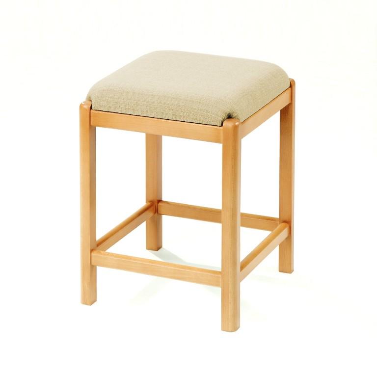 necke massiv holz hocker sitzhocker k chenhocker erle beige kleinm bel dreh tritt. Black Bedroom Furniture Sets. Home Design Ideas