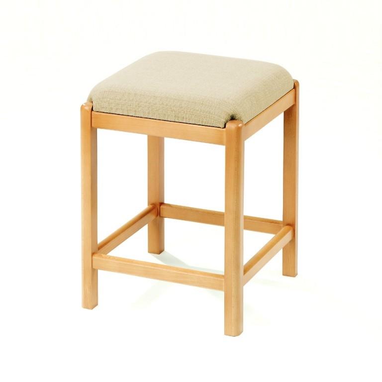 massiv holz hocker sitzhocker k chenhocker buche erle farbig stoff kleinm bel dreh tritt. Black Bedroom Furniture Sets. Home Design Ideas