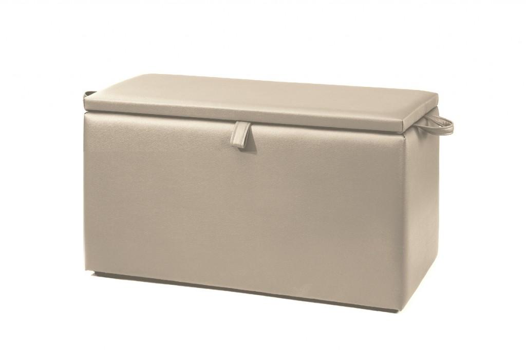 necke w schetruhe w schebox truhe valentina mit stauraum in beige 80 x 41 x 39 kleinm bel. Black Bedroom Furniture Sets. Home Design Ideas