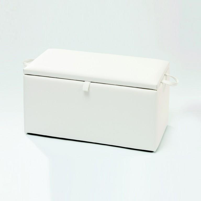 necke w schetruhe w schebox truhe valentina mit stauraum in wei 80 x 41 x 39 kleinm bel. Black Bedroom Furniture Sets. Home Design Ideas