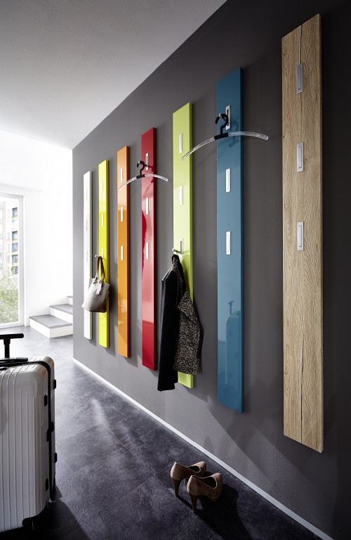 flurgarderobe hochglanz garderobe paneel wandgarderobe. Black Bedroom Furniture Sets. Home Design Ideas