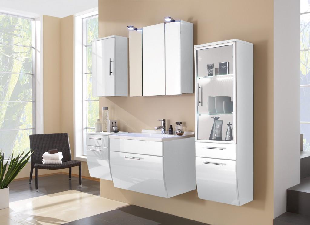 design badezimmer badm bel badezimmerm bel inkl. Black Bedroom Furniture Sets. Home Design Ideas
